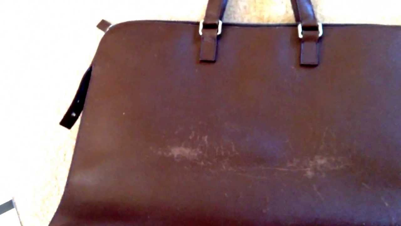 prada fringe purse - Prada saffiano leather scuffed easily - YouTube