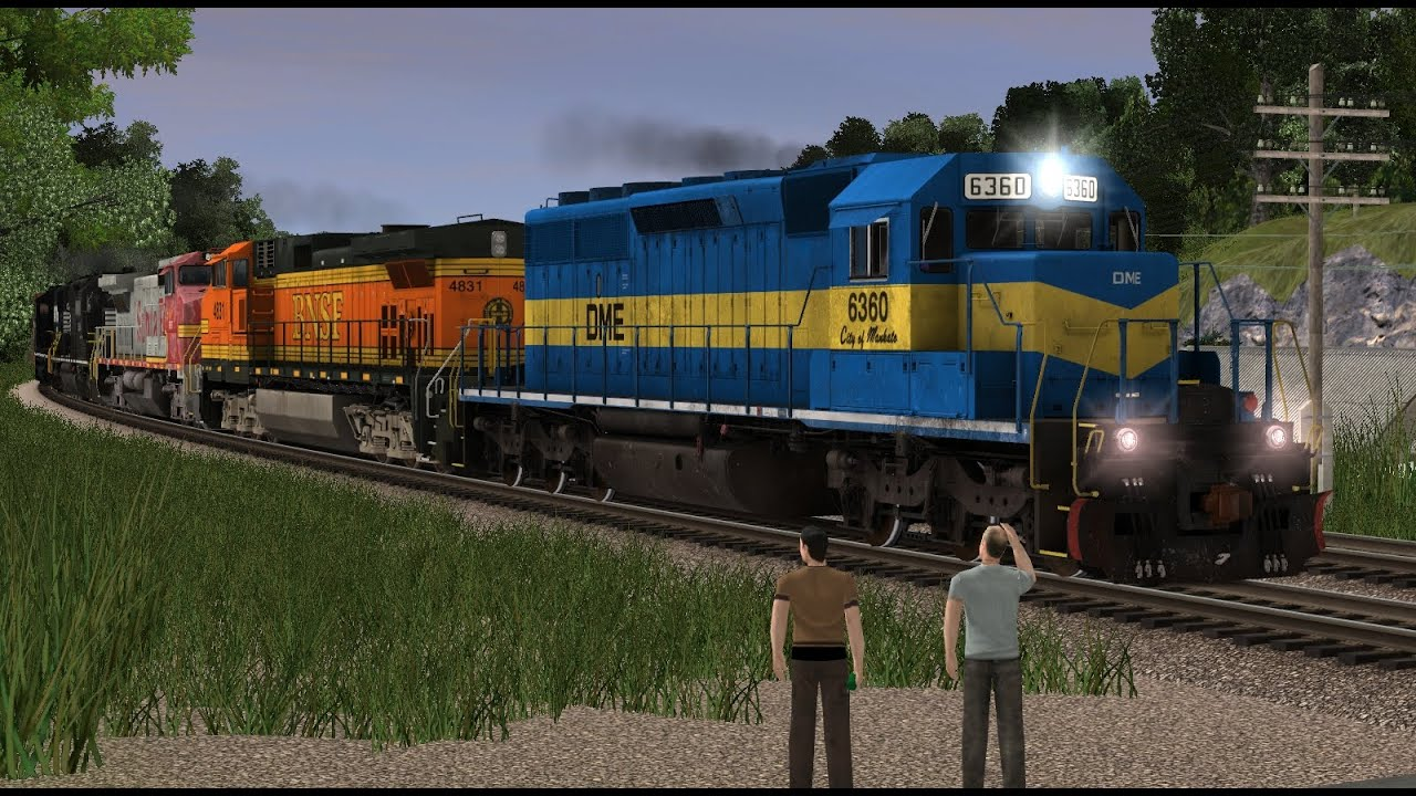 Trainz 12 Rainbow Northbound by Kari Let's Them In