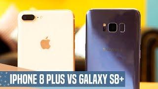 iphone 8 plus vs samsung galaxy s8 review en espaol