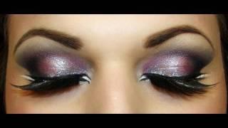 exotic arab makeup smokey eyes المكياج العربي