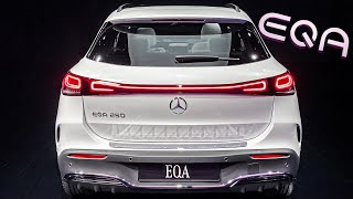 ALL-NEW Mercedes Benz EQA! Full Electric Compact SUV! + First Walkaround Interior Exterior!