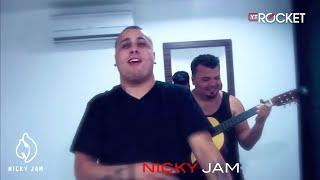 Nicky Jam con Ñejo  - Improvisando @ Medellin Colombia (HD)