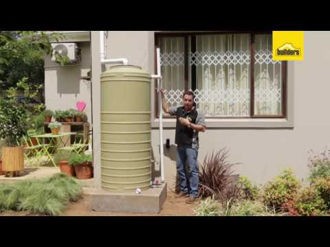 How To Easily Install A Water Tank Youtube