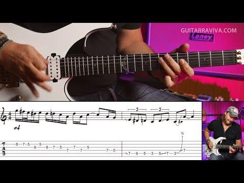 Lick de Rock 1 - Frases Rockeras para guitarra eléctrica : David Palau    Guitarraviva