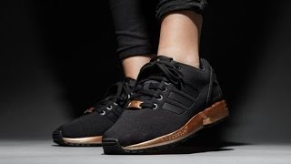 Adidas ZX Flux Black Copper Metallic