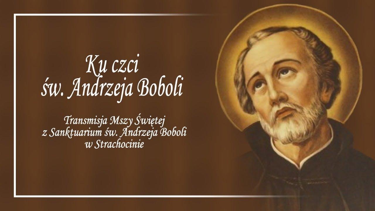 Download Ku czci Świętego Andrzeja Boboli (16 września 2021) #naŻywo