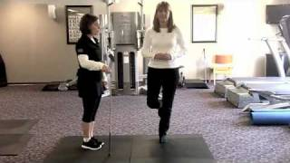 Golf Fitness Assessing Standing Balance
