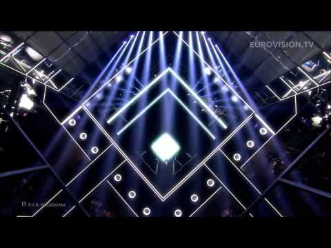 Tijana - To the Sky (F.Y.R. Macedonia) LIVE Eurovision Song Contest 2014 Second Semi-Final