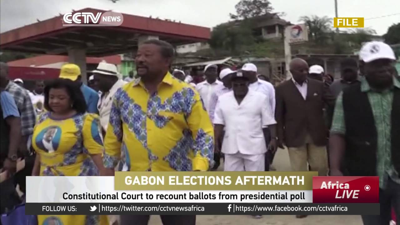 Gabon's Constitutional Court orders vote recount