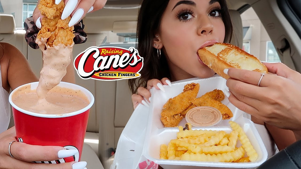 Download Raising Canes Mukbang!! (huge cup of sauce) in my new BMW