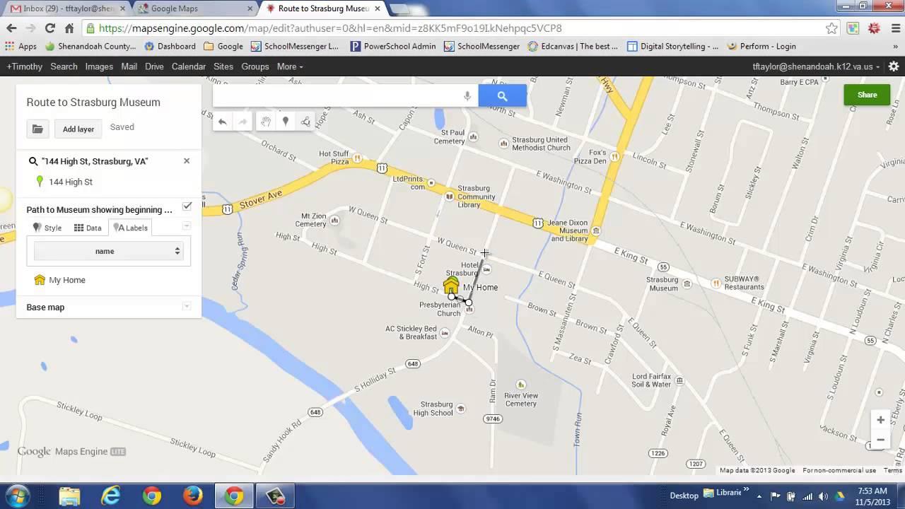 . create a custom map using the new google maps  youtube