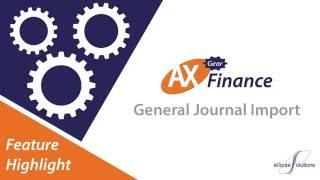 مجلة الاستيراد في Microsoft Dynamics AX 2012