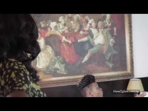 Bland 2 Glam: Behind the Scene for Bland2Glam Commercial with Yemi Alade