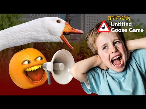 ANNOYING KIDS!!! | Untitled Goose Game #2