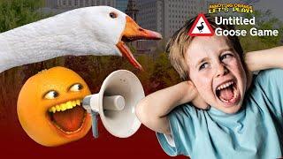 ANNOYING KIDS!!! | Untitled Goose Game #2