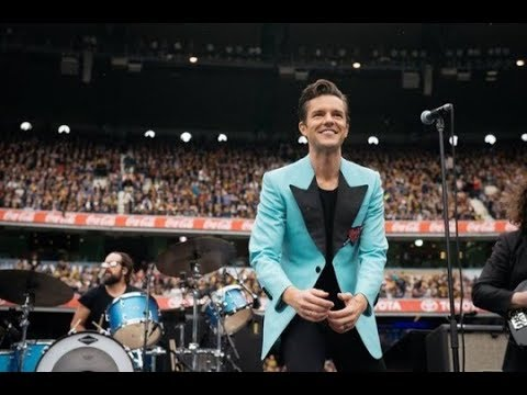The Killers at AFL Grand Finals 2017 - Melbourne, Australia