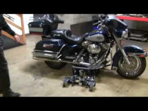 J S Jacks Big Wheel Motorcycle Lift 2 Youtube