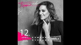 Tijana Bogicevic- Najava Koncerta (Kombank Dvorana/BG/12.04)