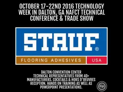 NAFCT Expo Technology Week in Dalton, GA.