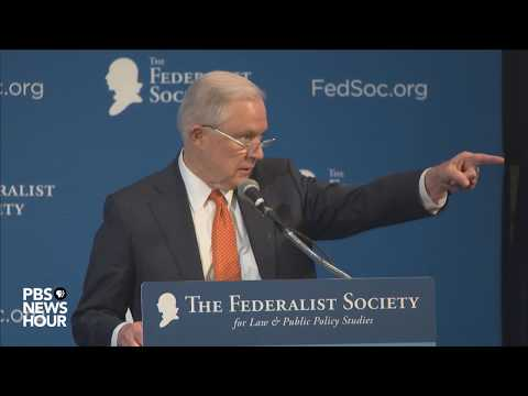 WATCH: Attorney General Sessions addresses The Federalist Society's 2017 National Lawyers Convention