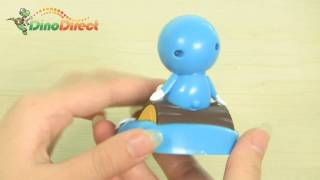 Cute Doraemon Shaped Solar Powered Shaking and Nodding Toy - dinodirect