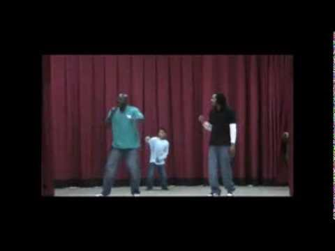 Coach Ron's Motivational Hip Hop Show: At Glen Oak School-Peoria IL.