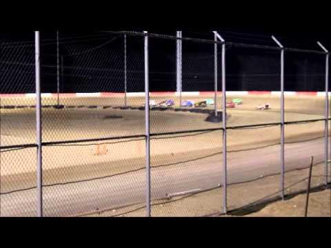 modlite/dwarf main event Casper Speedway 8-28-15