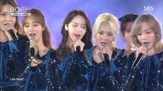 Repeat youtube video 161001 SNSD 소녀시대 - Lion Heart (라이온 하트) + GEE (지) @ BOF 부산 원아시아 페스티벌