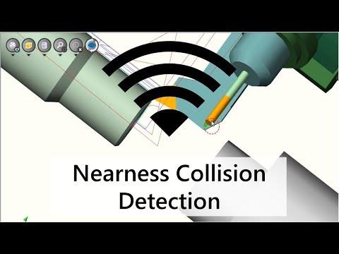 Activate the Nearness Collision Detection in NCSIMUL Machine | Tutorial