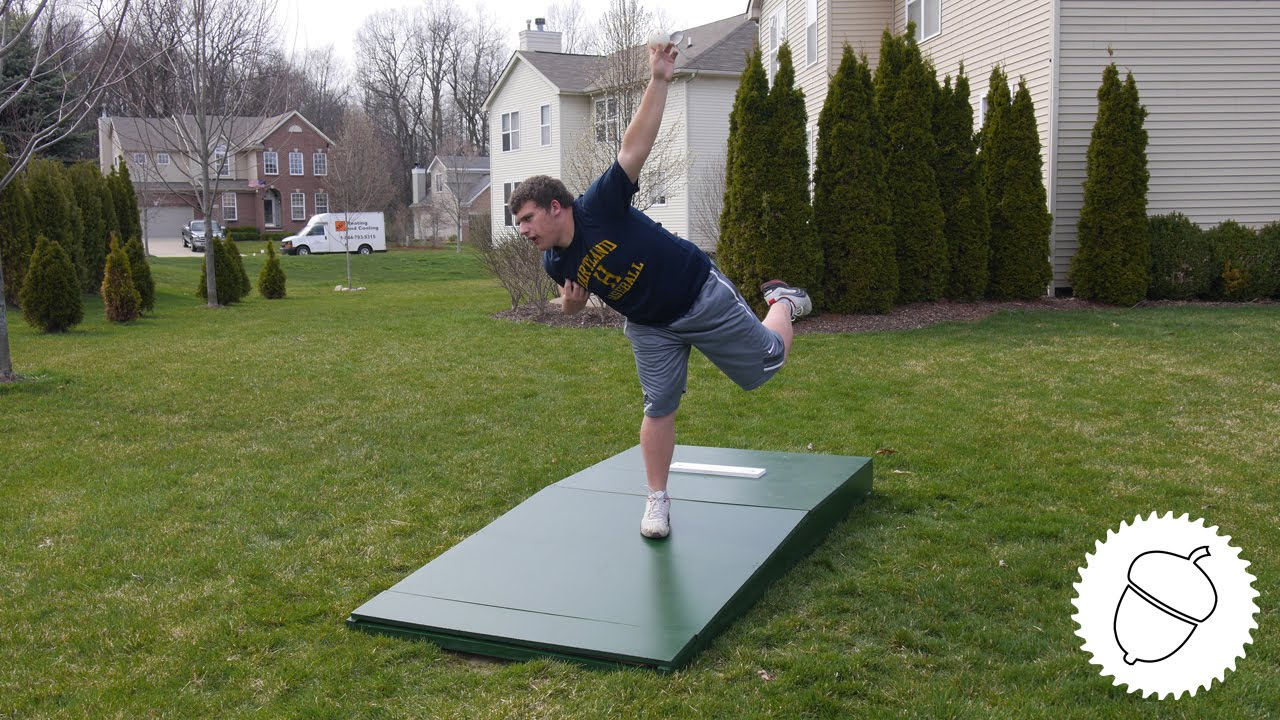 How To Build A Pitching Mound Youtube