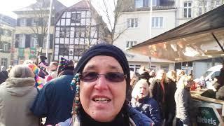 Altweiberparty in Ratingen 2018
