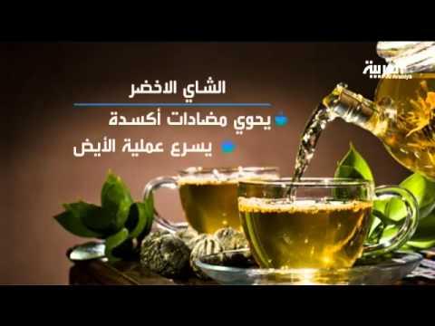الشاي الأخضر هو الأفضل لكونه يحتوي على مضادات أكسدة