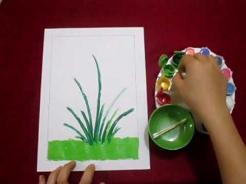 Tạo hình   Vẽ hoa   MN An Thắng