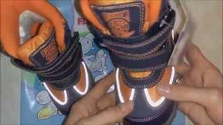 видео Flamingo детская обувь