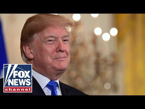 Trump speaks at Republican Party fundraiser