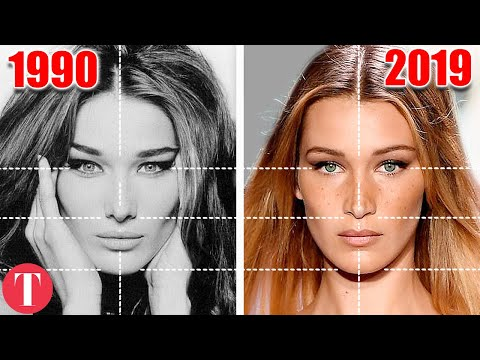 The Evolution Of The Most Beautiful Women