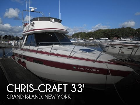 [UNAVAILABLE] Used 1986 Chris-Craft 333 Commander In Grand Island, New York