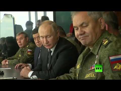 بوتين يحضر المرحلة النشطة من مناورات -سنتر-2019-  - نشر قبل 2 ساعة