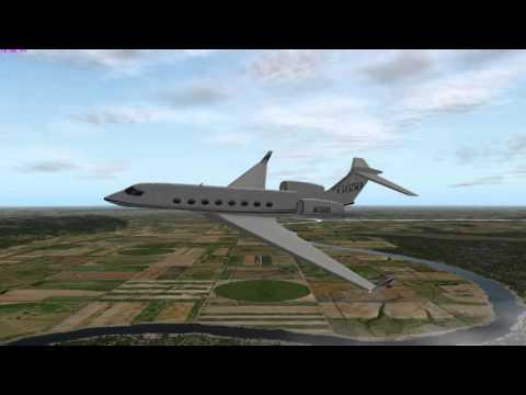 Gulfstream G650 Flight KMLE (Millard) to KOMA (Omaha Eppley Airfield)