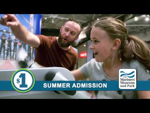 15-second commercial for The Mariners' Museum and Park.