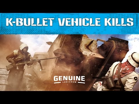How To Destroy A Vehicle With K Bullets - Battlefield 1 - Order Of The Falcon Medal