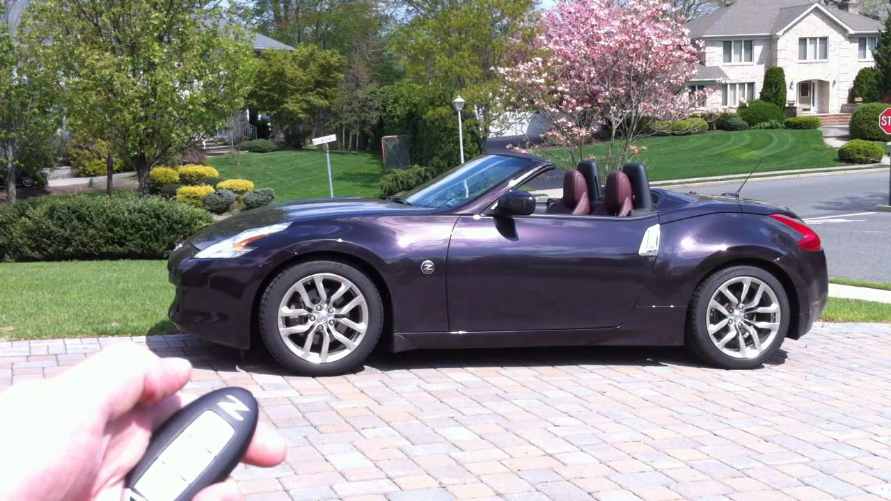 Mods4cars Smarttop For Nissan 370z Roadster Operate The Top By