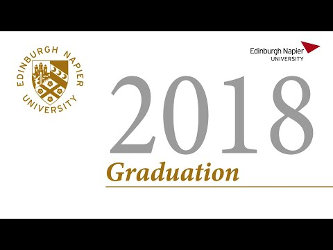 Edinburgh Napier University Graduation Fri 29th June 2018 AM