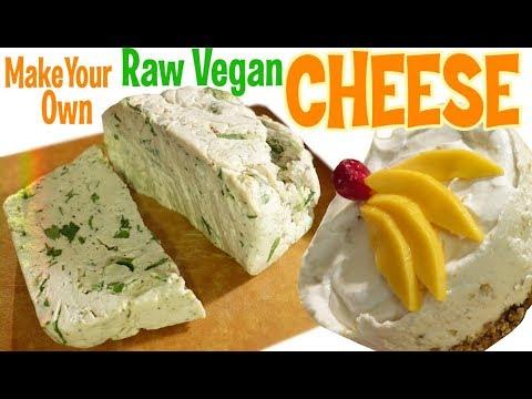 2 Ingredient Raw Vegan Cheese and Cheesecake! – 2 Recipes