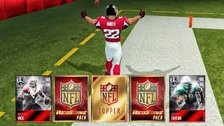RED ZONE PACK OPENING & ULTIMATE LEGENDS! Madden NFL 16 Mobile Gameplay