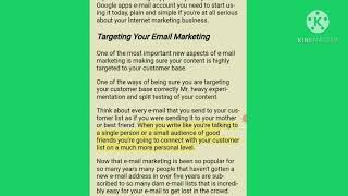 What is email marketing// email marketing English// email marketing tutorial in English