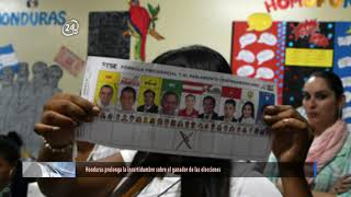 Honduras prolonga la incertidumbre sobre el ganador de las elecciones