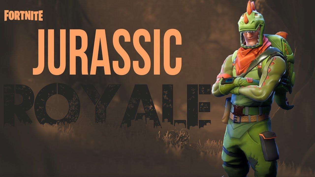 Fortnite Funny Moments #1 : : Jurassic Royale