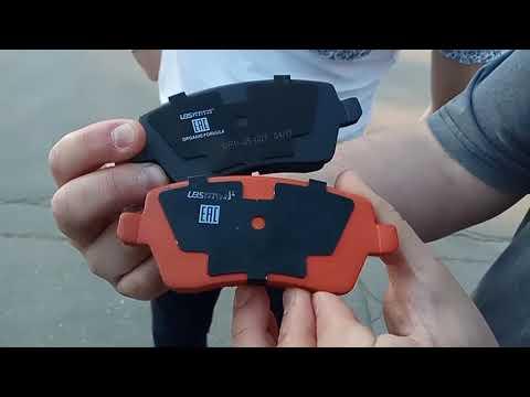 Тест Лада Веста (Lada Vesta)  и тормозные колодки UBS
