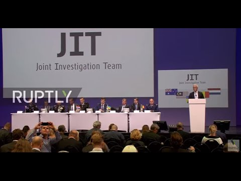 LIVE: JIT presents first results of criminal investigation of MH17 crash